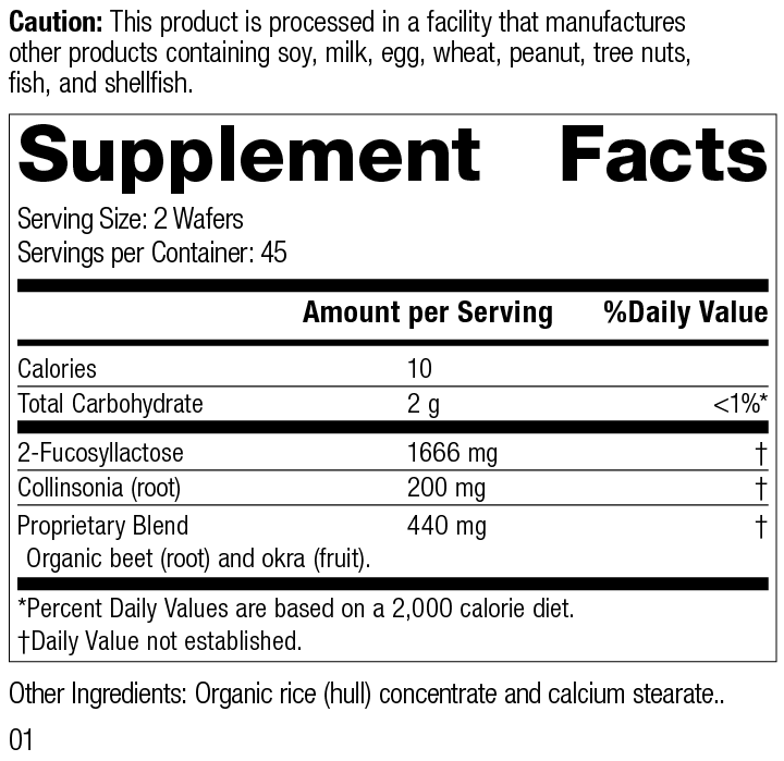 Nutrition Label for GI Stability™