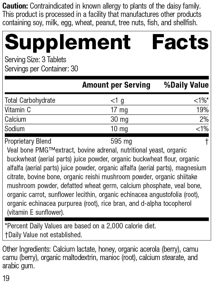Cataplex® C, 90 Tablets, Rev 19 Supplement Facts