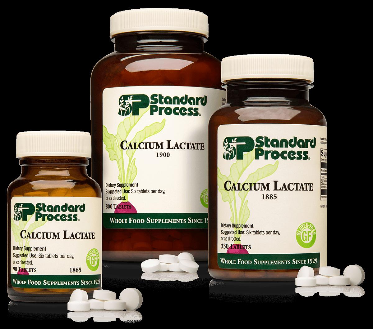 Calcium Lactate, 90 Tablets