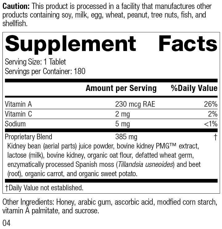 7120 Renafood R04 Supplement Facts