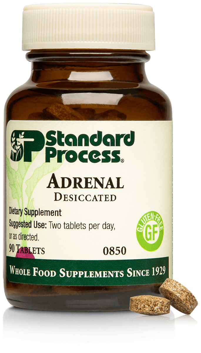 Adrenal Desiccated, 90 Tablets