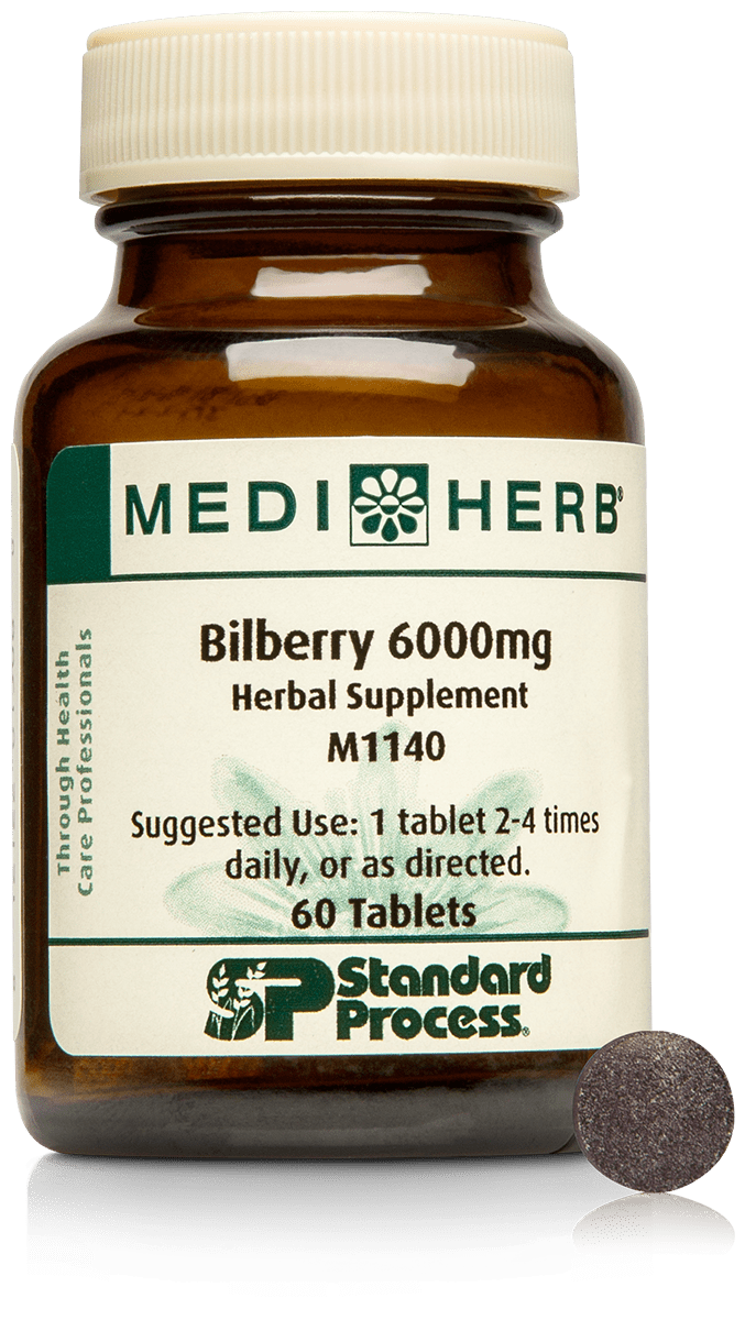 Bilberry 6000mg, 60 Tablets