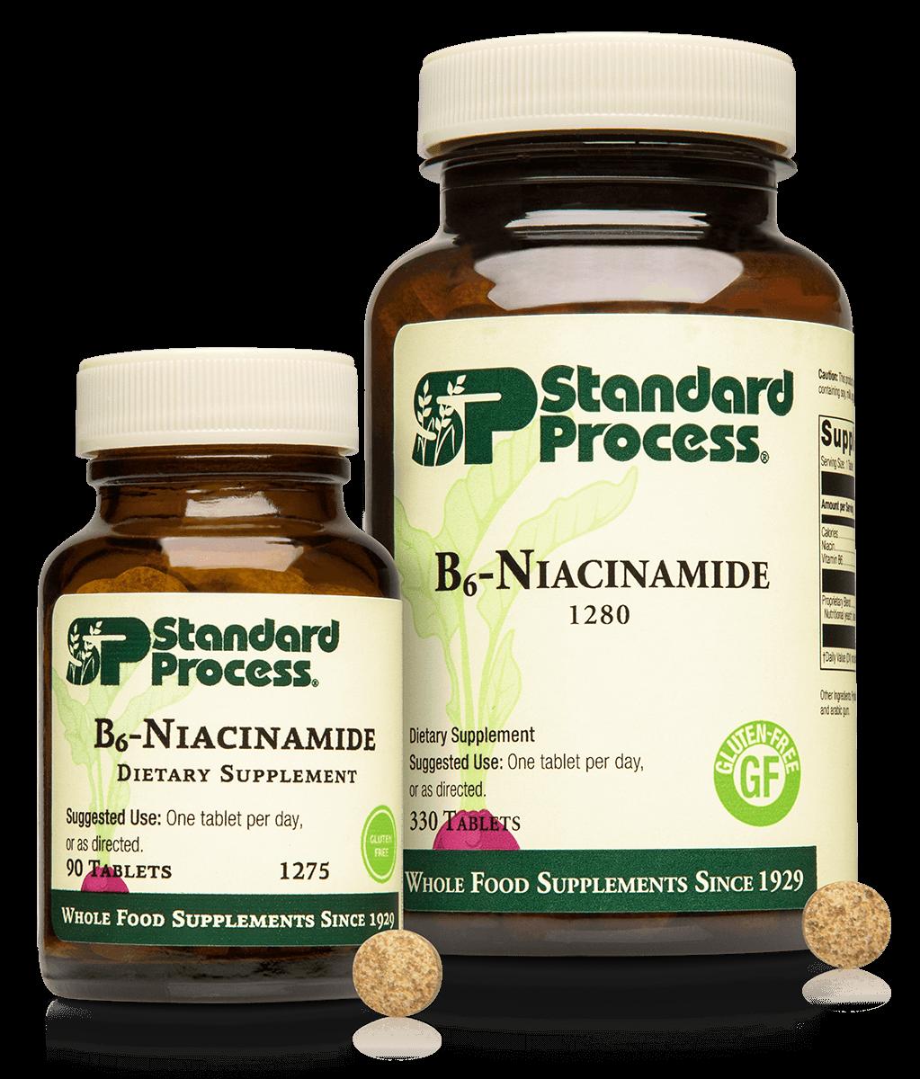 B6-Niacinamide, 90 Tablets
