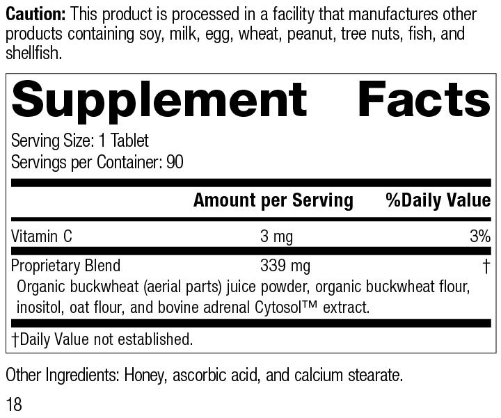Cyruta®, 90 Tablets, Rev 18 Supplement Facts
