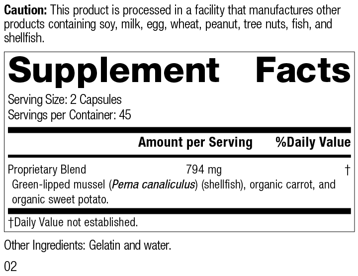 Nutrimere®, 90 Capsules, Rev 02 Supplement Facts