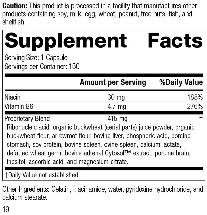 Circuplex®, 150 Capsules, Rev 19 Supplement Facts
