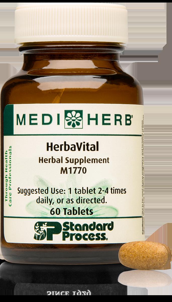 HerbaVital, 60 Tablets