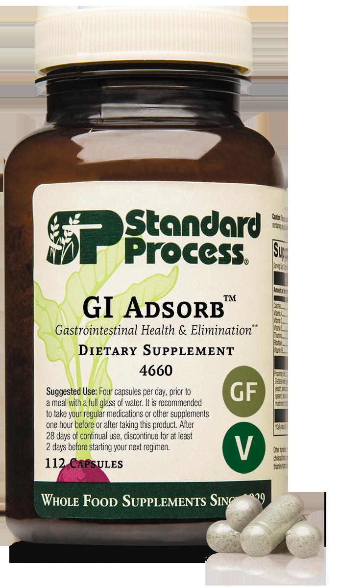 GI Adsorb™, 112 Capsules